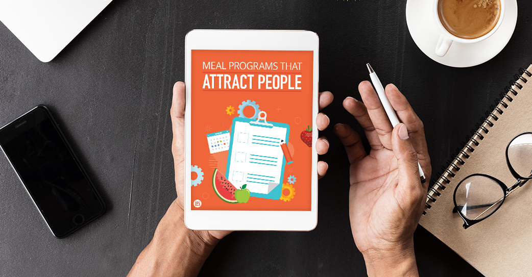 Resource 'Meal Programs That Attract People' read on tablet